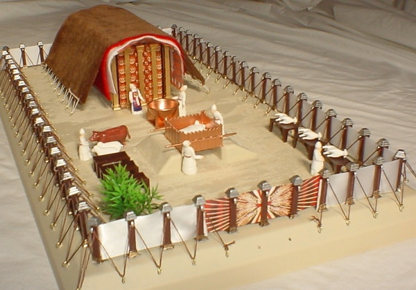 Bible Tabernacle Model - Mishkan