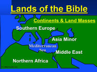 Bible Maps for Powerpoint