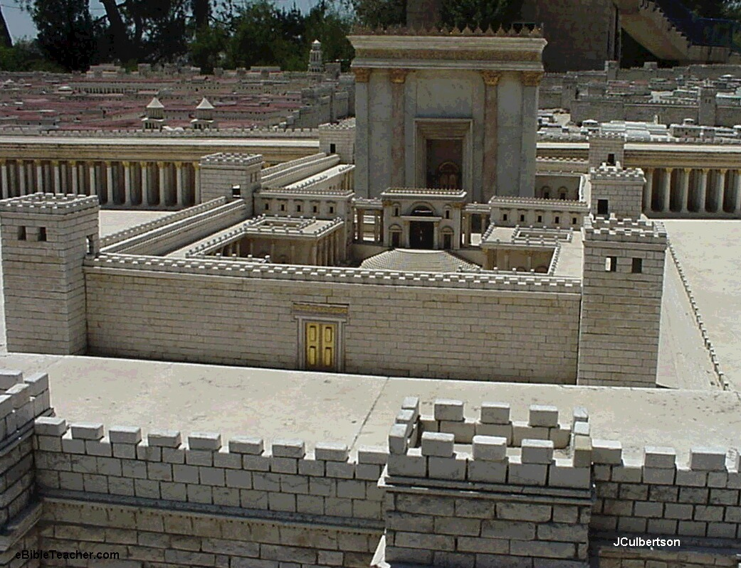 jerusalem model herod's temple photos