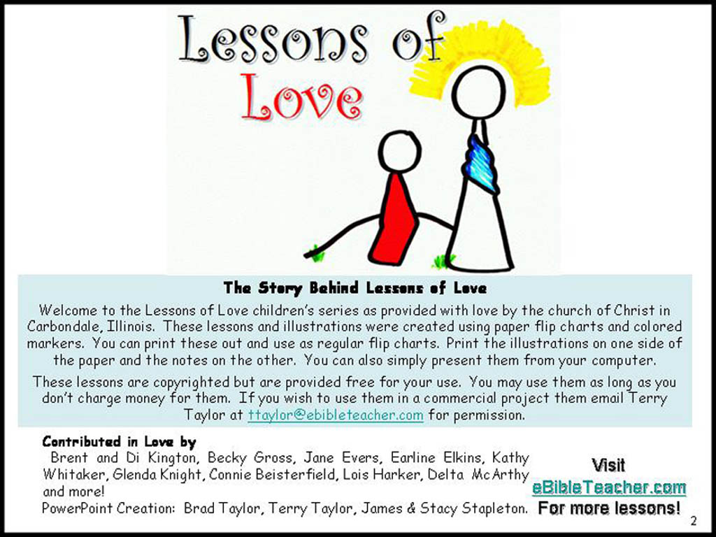 the moral lesson on the parable of the three servants All three parables are on the subject of recovering the lost, which is the  jesus'  parables are based on real-life situations, though they often veer off  the first  lesson is that the father will not treat a son as a hired servant.