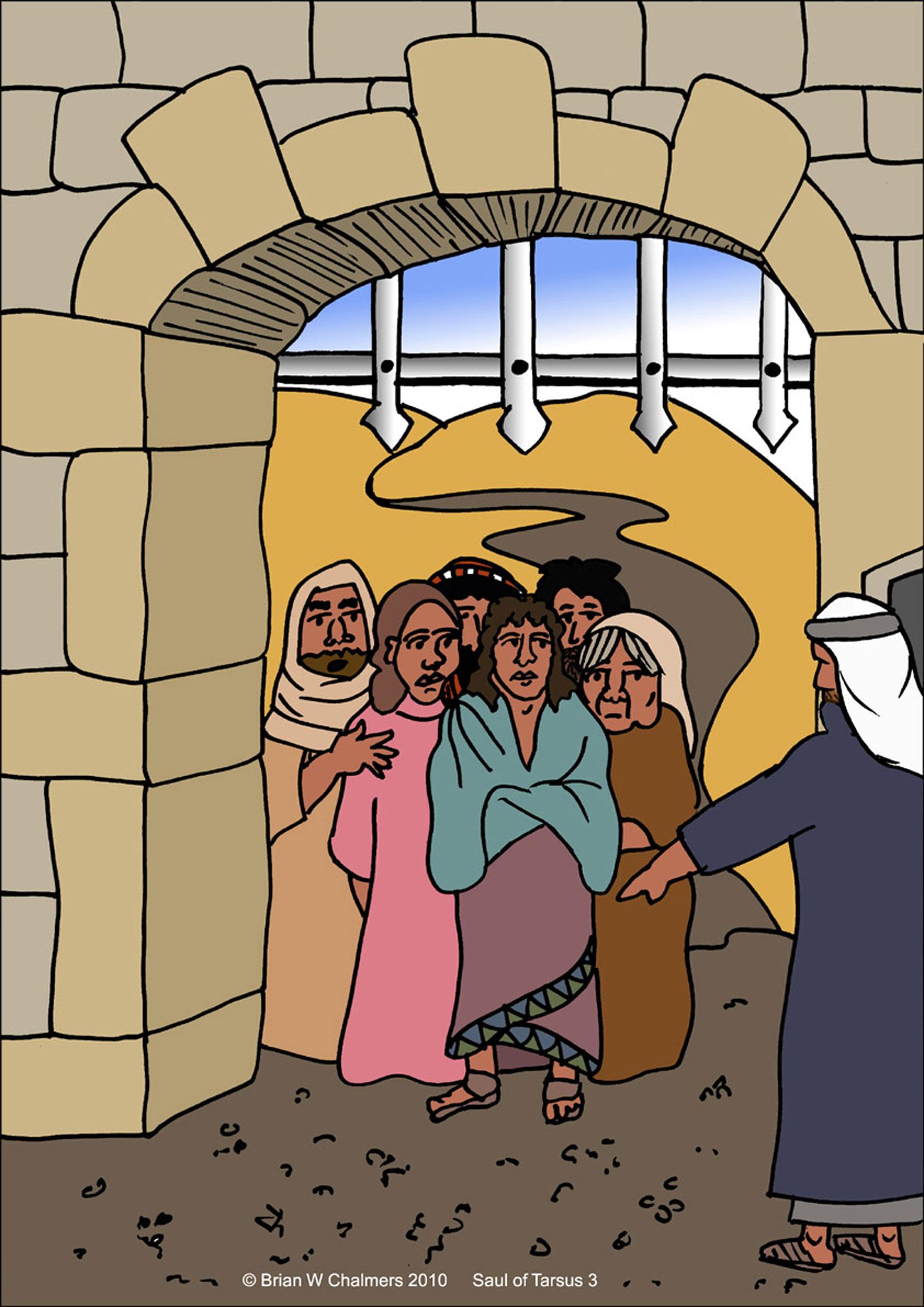 Christians Brought Back To Jerusalem Be Punished