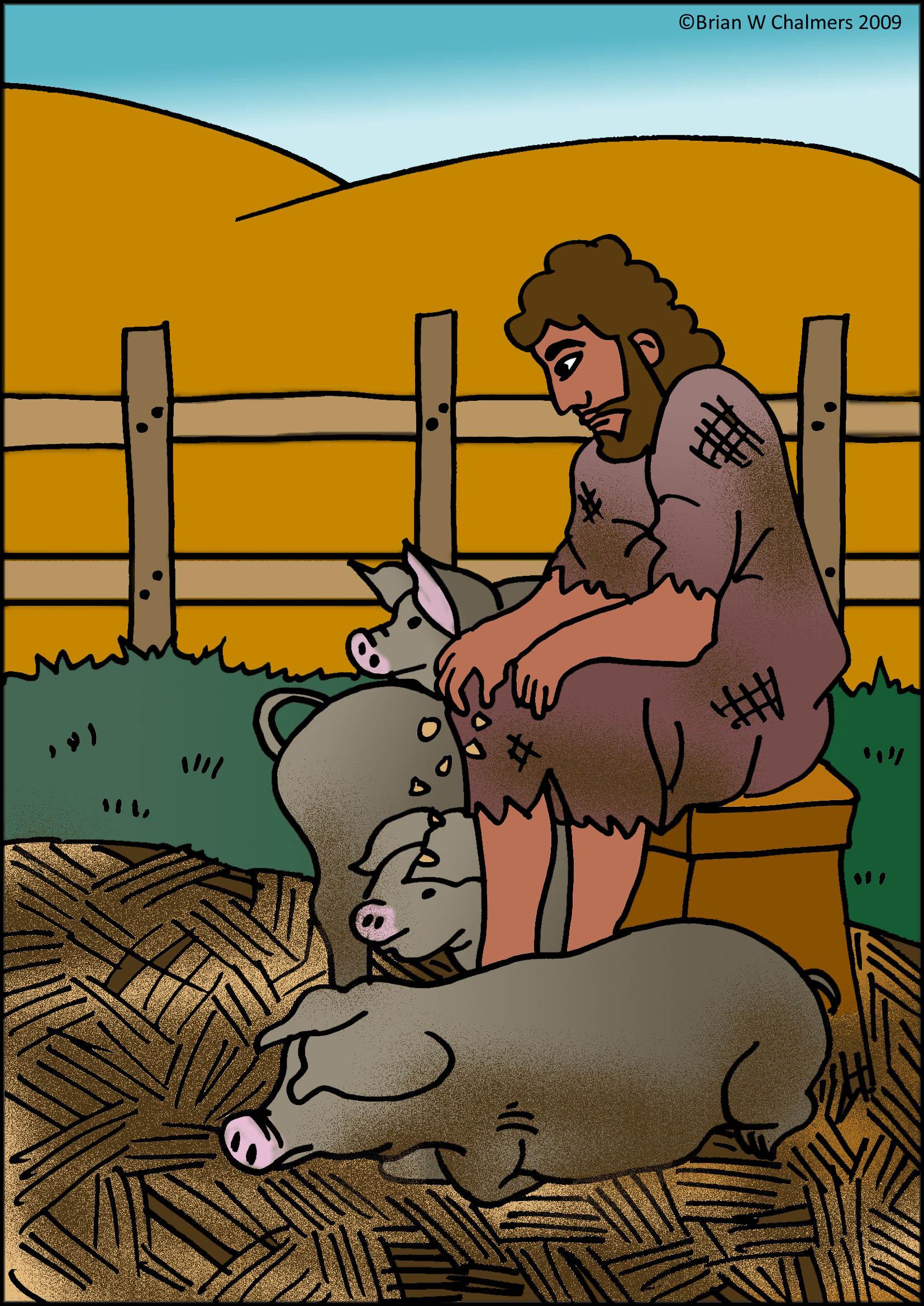 the prodigal son flip chart ebibleteacher prodigal son story clipart prodigal son clip art for preschoolers