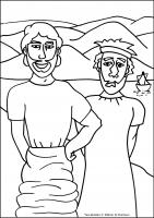 Two builders flip chart ebibleteacher for Wise man foolish man coloring page