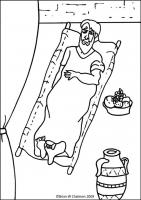 Jesus Heals The Paralytic Man Flip Chart Ebibleteacher