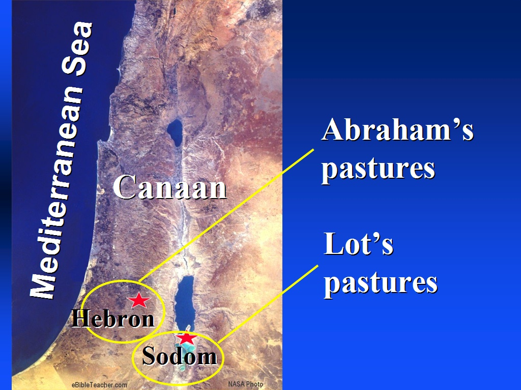 Abraham in canaan ebibleteacher abraham in canaan sciox Choice Image