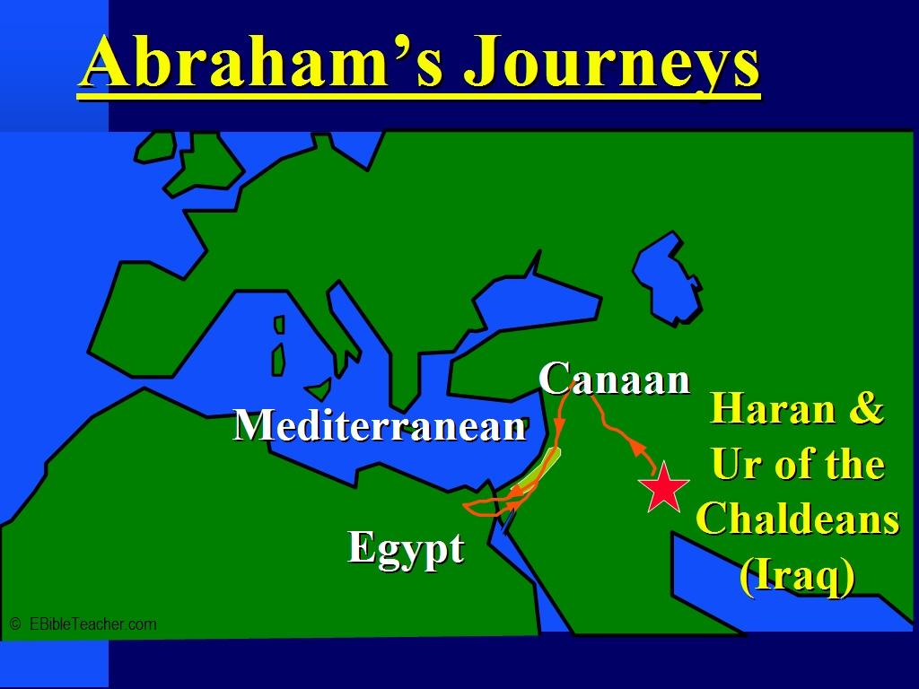 Old Testament Maps EBibleTeacher - Map of egypt canaan