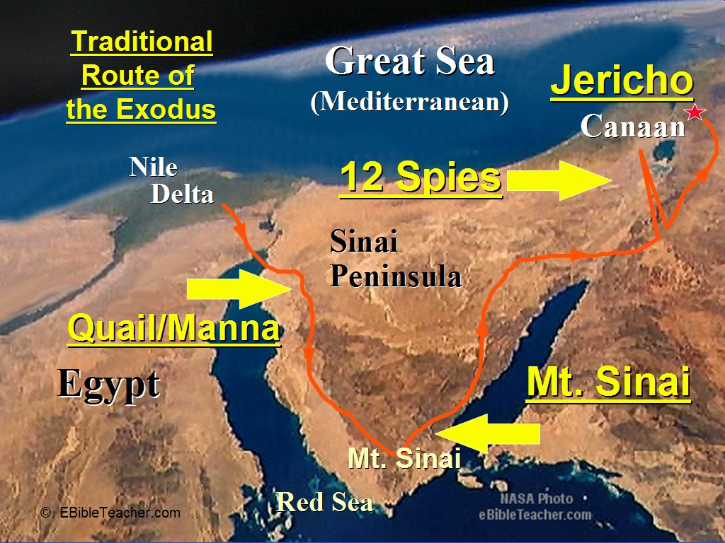 Old Testament Maps EBibleTeacher - Map of egypt during exodus