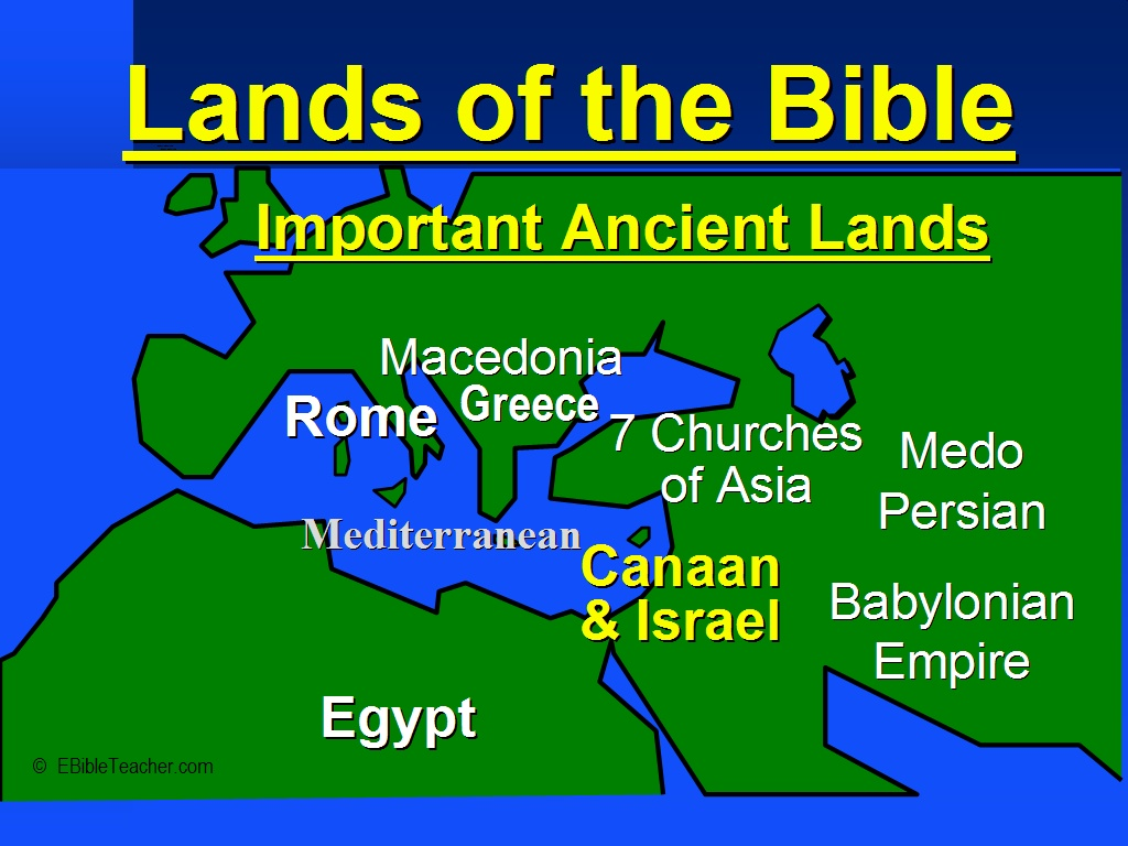 Old testament maps ebibleteacher important ancient lands keywords gumiabroncs Images
