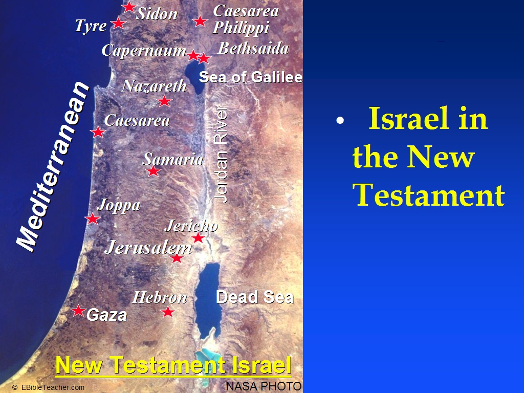 New Testament Maps
