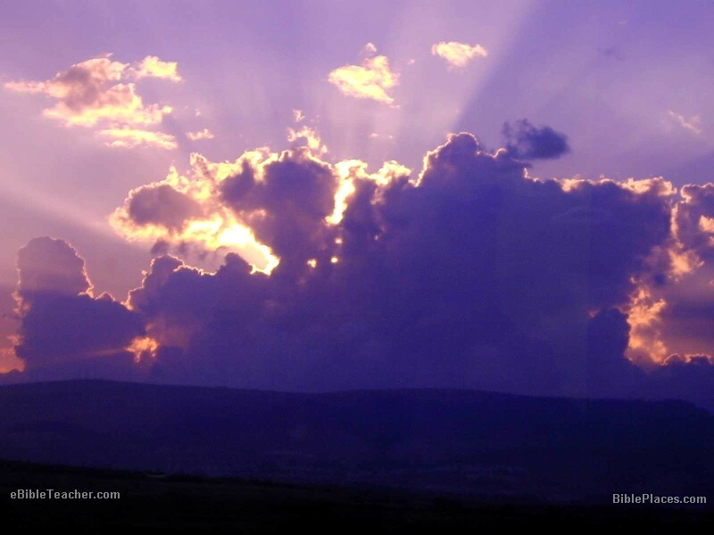 Blurred sundown background Vector | Free Download